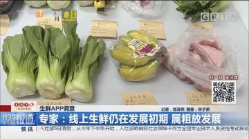 生鲜APP调查 专家:线上生鲜仍在发展初期 属粗放发展