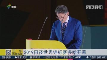 2019田径世界杯锦标赛多哈开幕