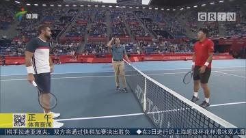 ATP东京赛 戈芬携手郑泫晋级男单八强