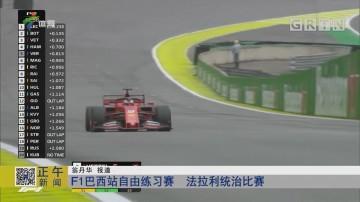 F1巴西站自由练习赛 法拉利统治比赛