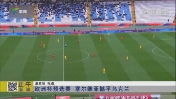 欧洲杯预选赛 塞尔维亚憾平乌克兰