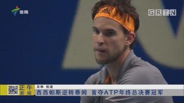 西西帕斯逆转蒂姆 首夺ATP年终总决赛冠军