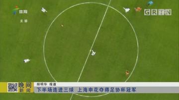 下半场连进三球 上海申花夺得足协杯冠军