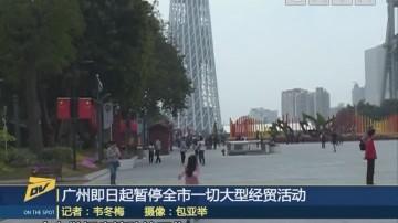 (DV现场)广州即日起暂停全市一切大型经贸活动