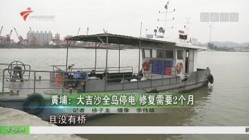 黄埔:大吉沙全岛停电 修复需要2个月