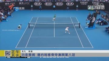力克蒂姆 德约科维奇夺澳网第八冠