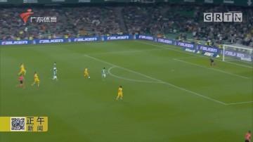 梅西助攻帽子戏法 巴塞罗那险胜皇家贝蒂斯