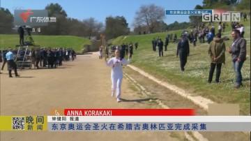 东京奥运会圣火在希腊古奥林匹亚完成采集