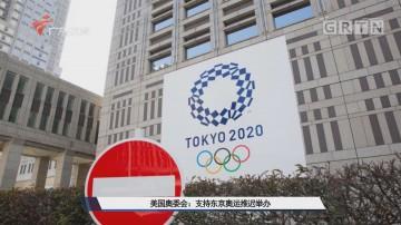 美国奥委会:支持东京奥运推迟举办