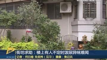 (DV现场)街坊求助:楼上有人不定时泼尿异味难闻