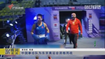 中国拳击队为东京奥运会资格而战