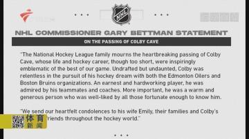 NHL球员凯弗突发脑溢血去世
