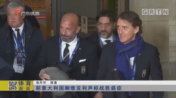 前意大利国脚维亚利声称战胜癌症