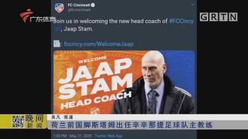 荷兰前国脚斯塔姆出任辛辛那提足球队主教练