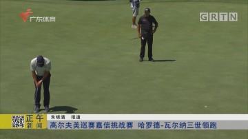 高尔夫美巡赛嘉信挑战赛 哈罗德-瓦尔纳三世领跑