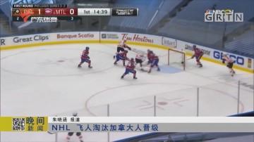 NHL 飞人淘汰加拿大人晋级
