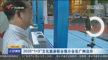 """2020""""1+9""""文化旅游联合推介会在广州召开"""