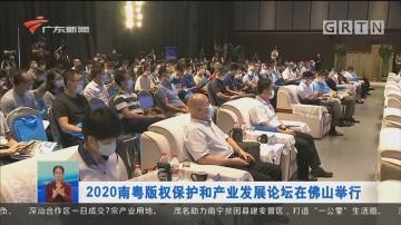 2020南粤版权保护和产业发展论坛在佛山举行