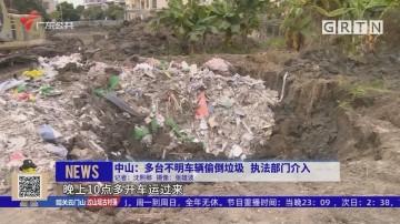 中山:多台不明车辆偷倒垃圾 执法部门介入