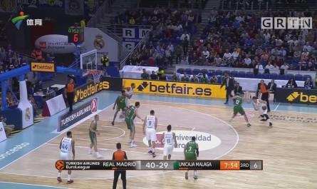 欧洲篮球联赛 皇马结束三连败