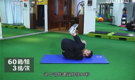 [2018-01-15]五分钟热度:下背部动态拉伸