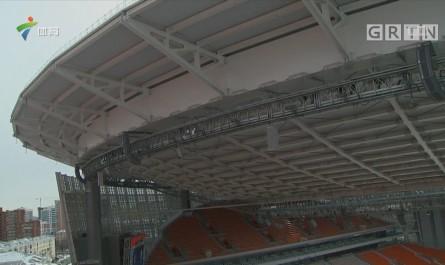 叶卡捷琳堡体育场紧锣密鼓迎接俄罗斯世界杯