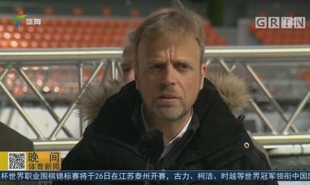 叶卡捷林堡体育场密锣紧鼓迎接俄罗斯世界杯