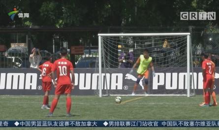 于洋助力彪马杯青少年足球赛 广州站决出冠军