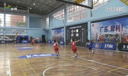 Jr.NBA校园篮球联赛广东高中组比赛落幕
