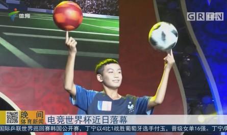 电竞世界杯近日落幕