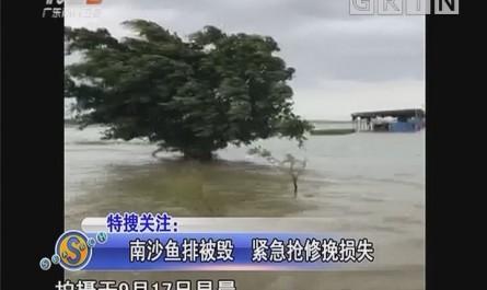 南沙鱼排被毁 紧急抢修挽损失