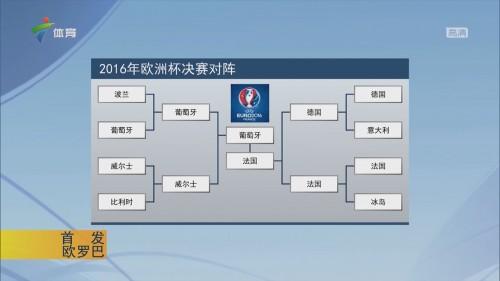 2016年欧洲杯决赛对阵