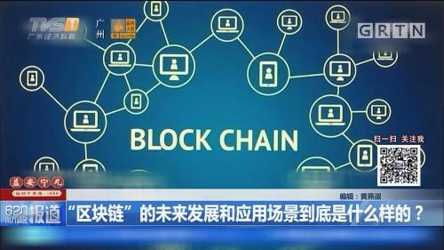 """""""区块链""""的未來发展和应用场景到底是什么样的?"""