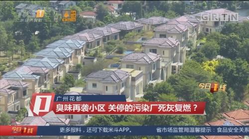 广州花都:臭味再袭小区 关停的污染厂死灰复燃?