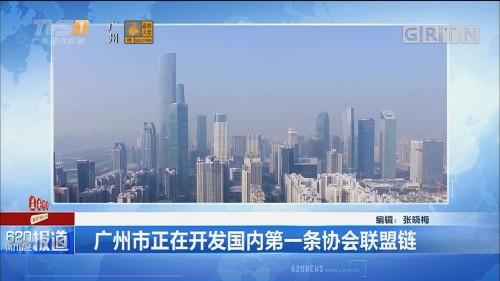广州市正在开发国内第一条协会联盟链