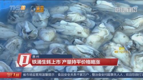 惠州:铁涌生蚝上市 产量持平价格略涨