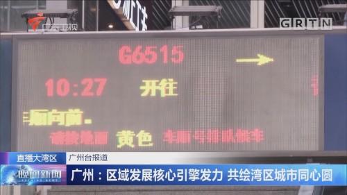 广州:区域发展核心引擎发力 共绘湾区城市同心圆