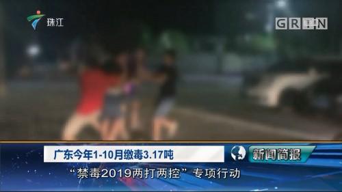 广东今年1-10月缴毒3.17吨