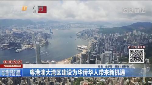 粤港澳大湾区建设为华侨华人带来新机遇