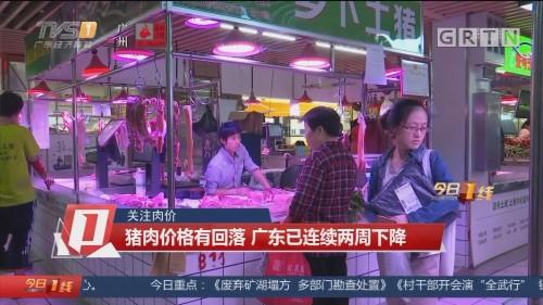 关注肉价:猪肉价格有回落 广东已连续两周下降