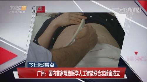 广州:国内首家母胎医学人工智能联合实验室成立