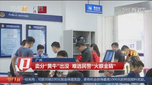 """广州:卖分""""黄牛""""出没 难逃民警""""火眼金睛"""""""