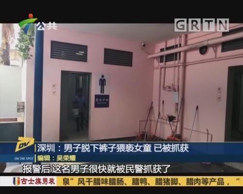 (DV现场)深圳:男子脱下裤子猥亵女童 已被抓获