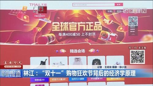 """林江:""""双十一""""购物狂欢节背后的经济学原理"""