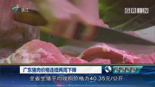 广东猪肉价格连续两周下降