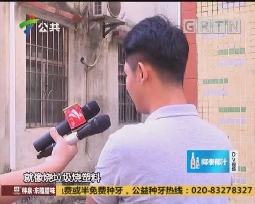 (DV现场)村民求助:村里出现刺鼻气味 发现有人违法倾倒垃圾