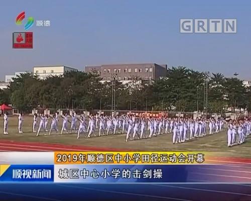2019年顺德区中小学田径运动会开幕