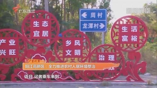 阳江高新区:全力推进农村人居环境整治