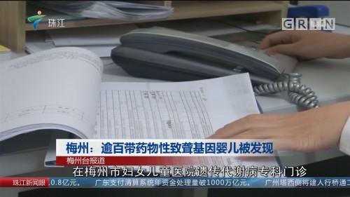 梅州:逾百带药物性致聋基因婴儿被发现