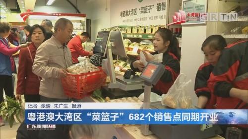 """粤港澳大湾区""""菜篮子""""682个销售点同期开业"""